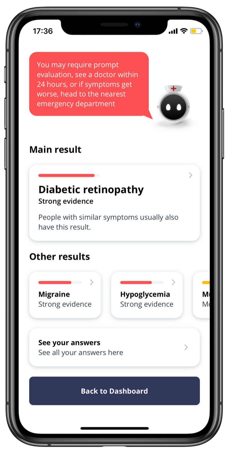 Olly Health - Mobile Symptom Checker